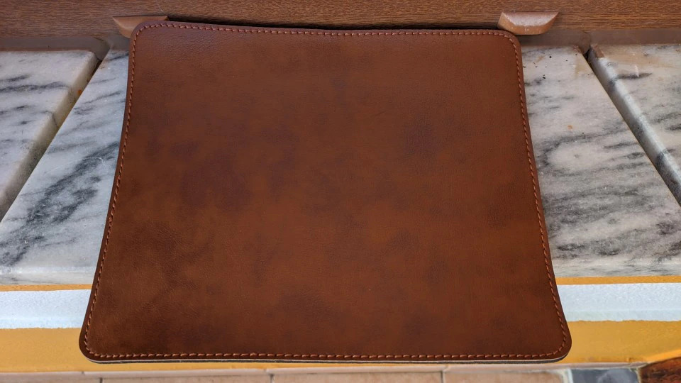 leather mouse pad for setup